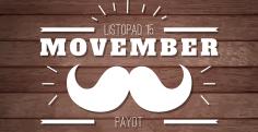 Soutěž Payot Movember! Měsíc knírů je zpět.